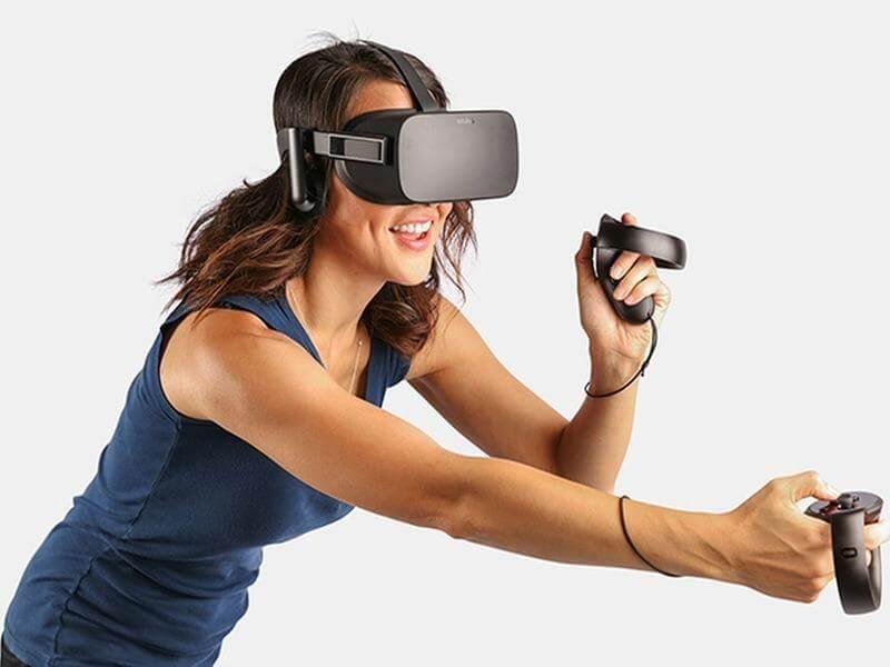 Oculus Rift CV1 и Oculus Touch фото-2